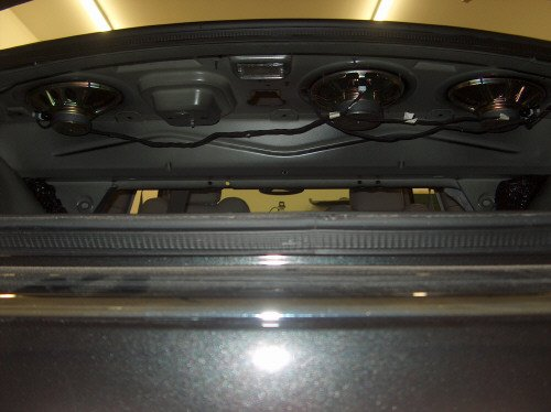 How To Remove Rear Deck Cover Amp Rear Speakers Chrysler
