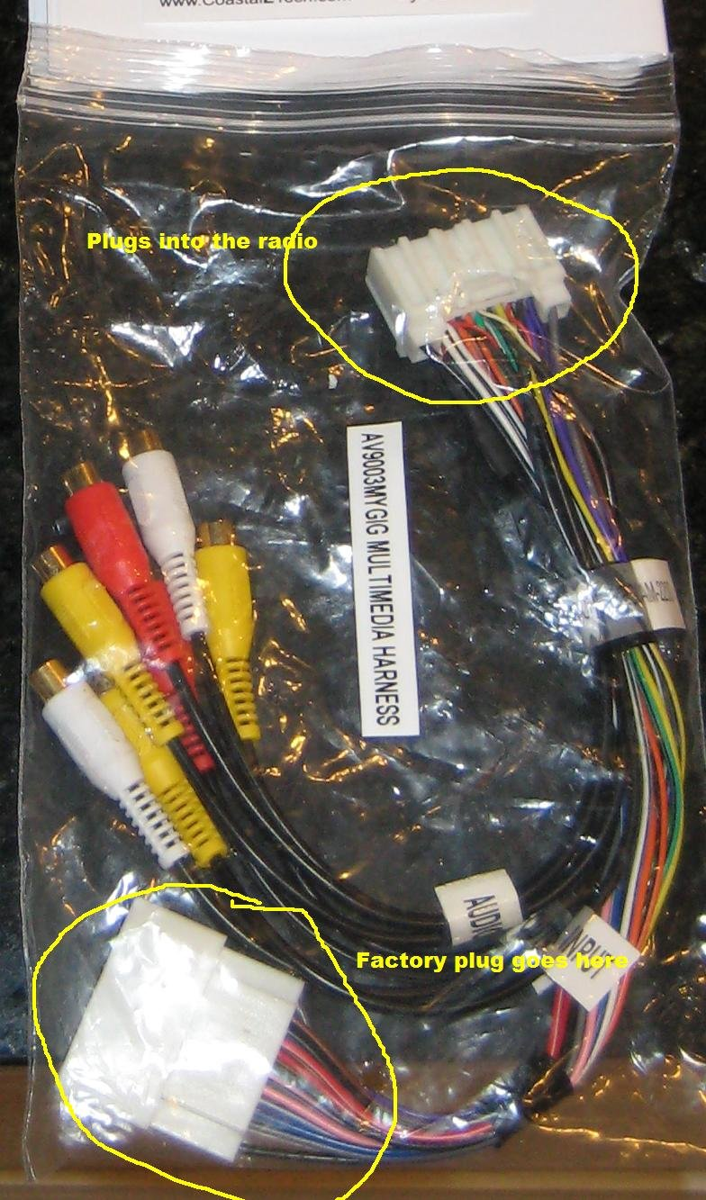 08 mygig ves install question chrysler 300c forum 300c & srt8 forums mygig wiring harness  Wiring Harness Diagram click image for larger version name 1 jpg views 1288 size 173 5
