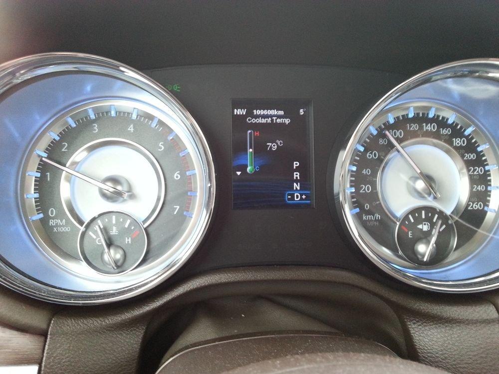 2012 Lancia Thema Diesel Cooling Water Temperature Chrysler 300c