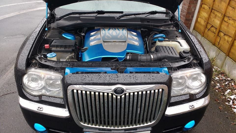 Chrysler 300c crd custom engine cover chrysler 300c for Chrysler 300c crd