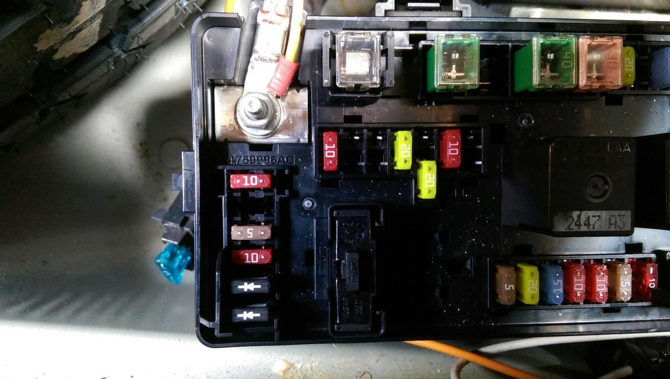 40 Chrysler 40 Cigarette Lighter Fuse   Honda Car Alarm Wiring ...