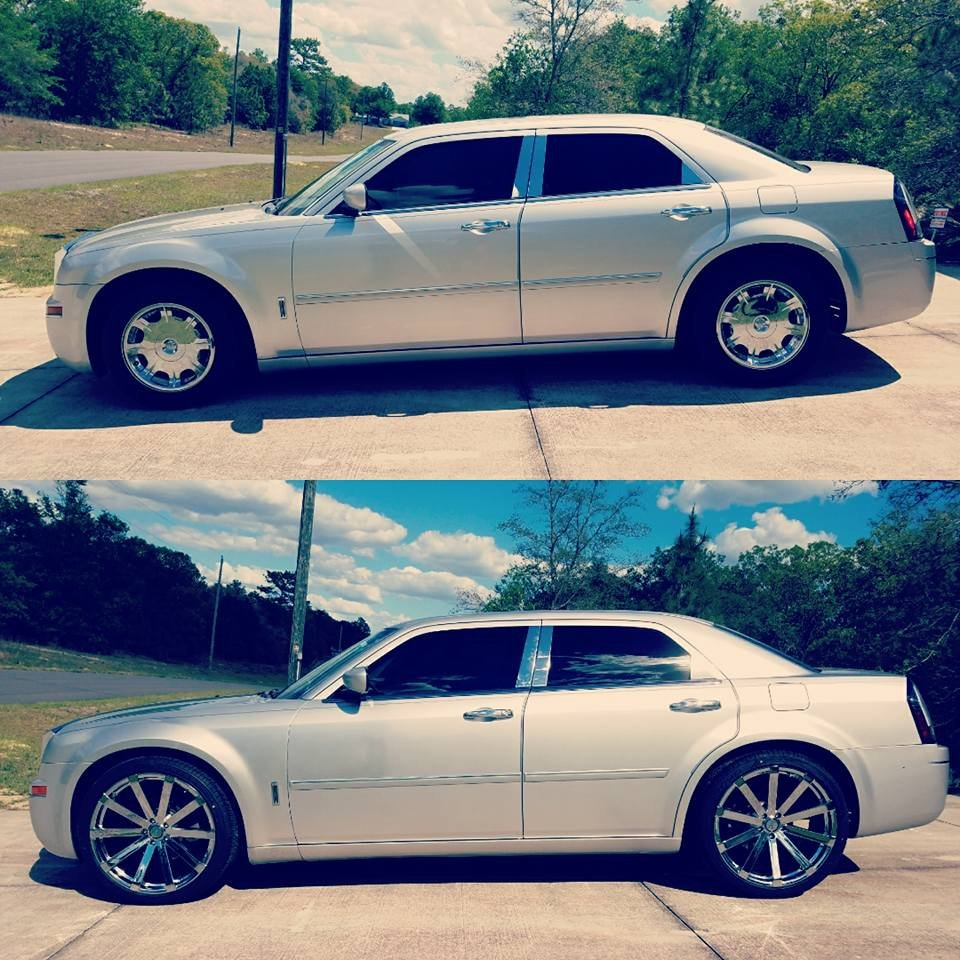 New 22's On 06' Chrysler 300 Limited