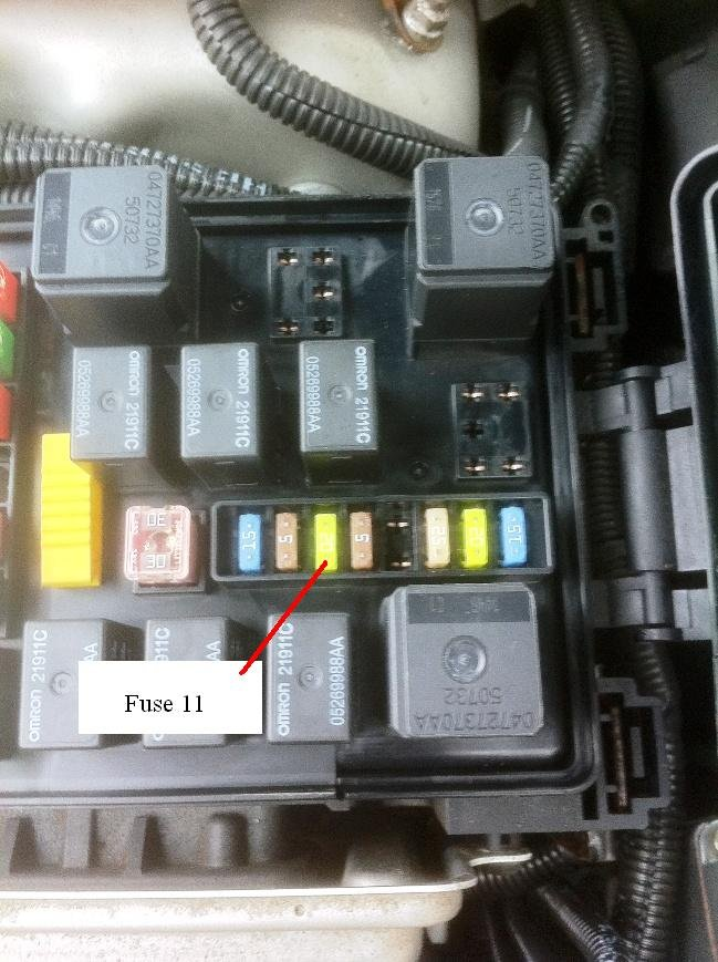 Automatically Reset Fuse 11 At Ignition