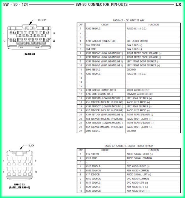 2005 Chrysler 300 Wiring Harness - Wiring Diagrams Show 2006 chrysler 300 radio wiring diagram 166.101.weo.micky-bruns.de