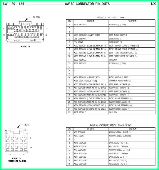2006 Chrysler 300 Wire Diagram Wiring Diagram Img
