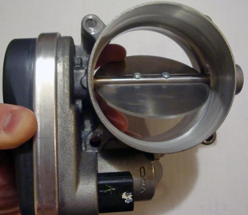 Maria Babes: porting throttle body