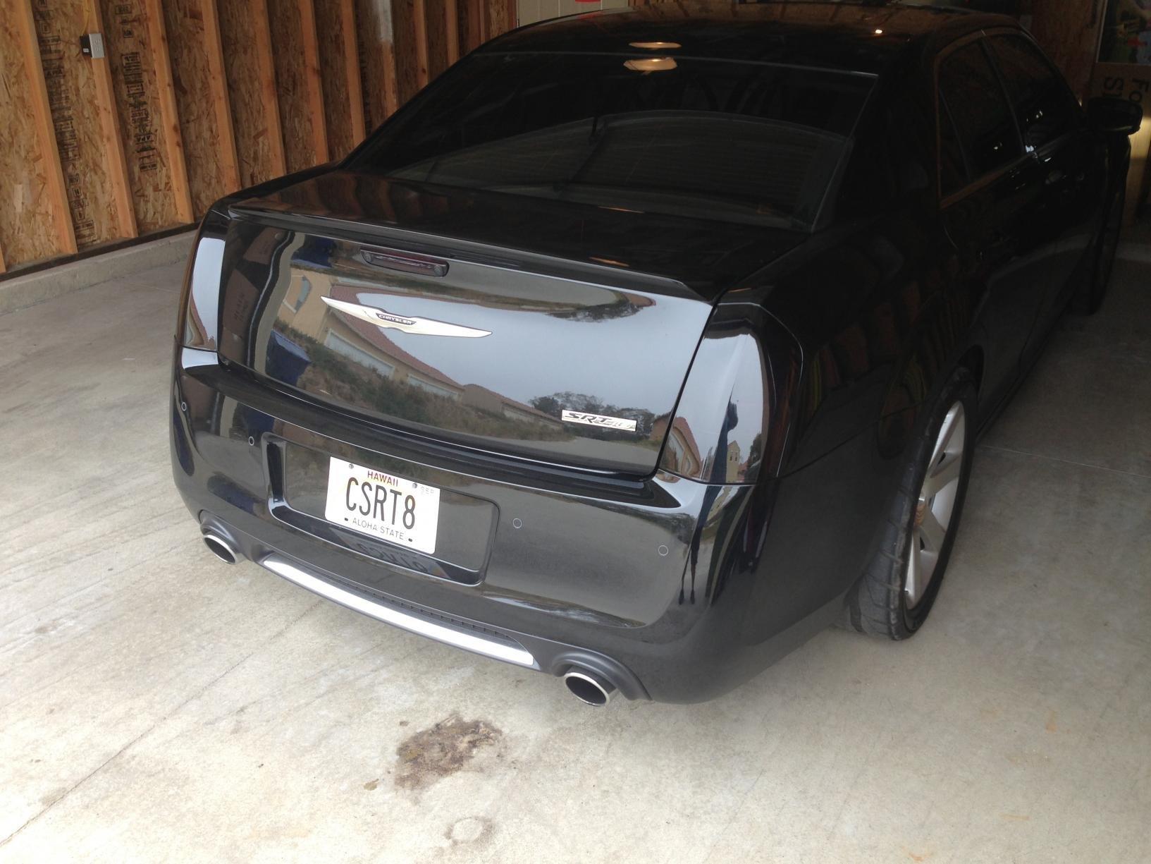 FOUND: 2012 Chrysler 300 SRT8 tinted taillights - Chrysler ...