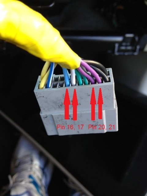 chrysler 300c forum 300c & srt8 forums view single post how to mygig wiring harness  Wiring Harness Diagram 22 pin lower how to use stock mirror mic after upgrading to mygig 22 pin lower_pins