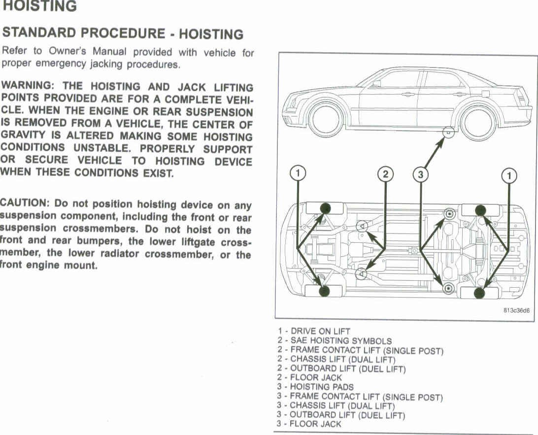 jack points on 2006 srt8??? chrysler 300c forum 300c & srt8 forums 2007 jeep compass exhaust diagram 2006 chrysler 300 exhaust diagram #7