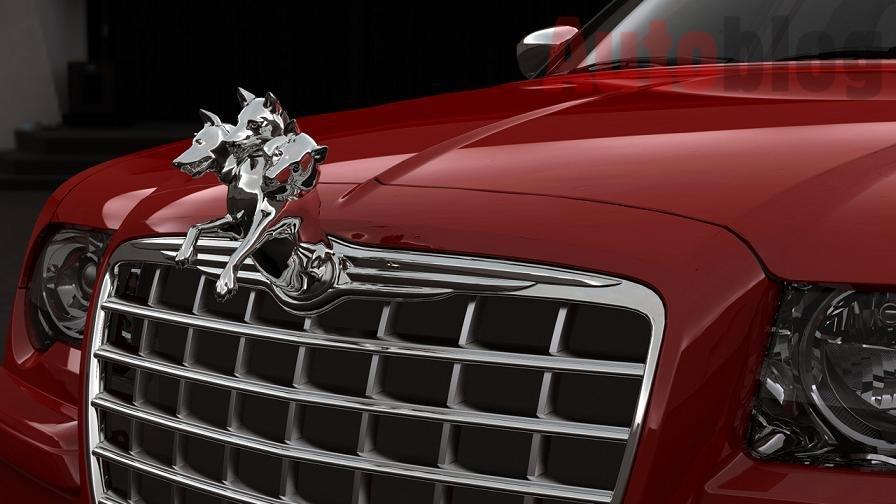 Chrysler 300c srt8 emblem #2