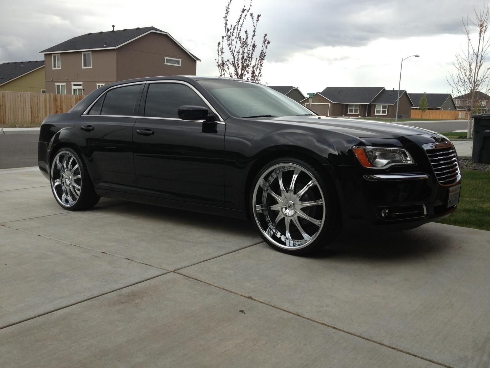 My 300 on 24's Lexani - Chrysler 300C Forum: 300C & SRT8 ...
