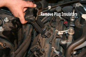 D How Change Spark Plugs Chrysler C Removepluginsulators on Dodge Ram 1500 Spark Plugs