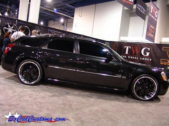 chrysler 300 black rims. factory chromed wheels.