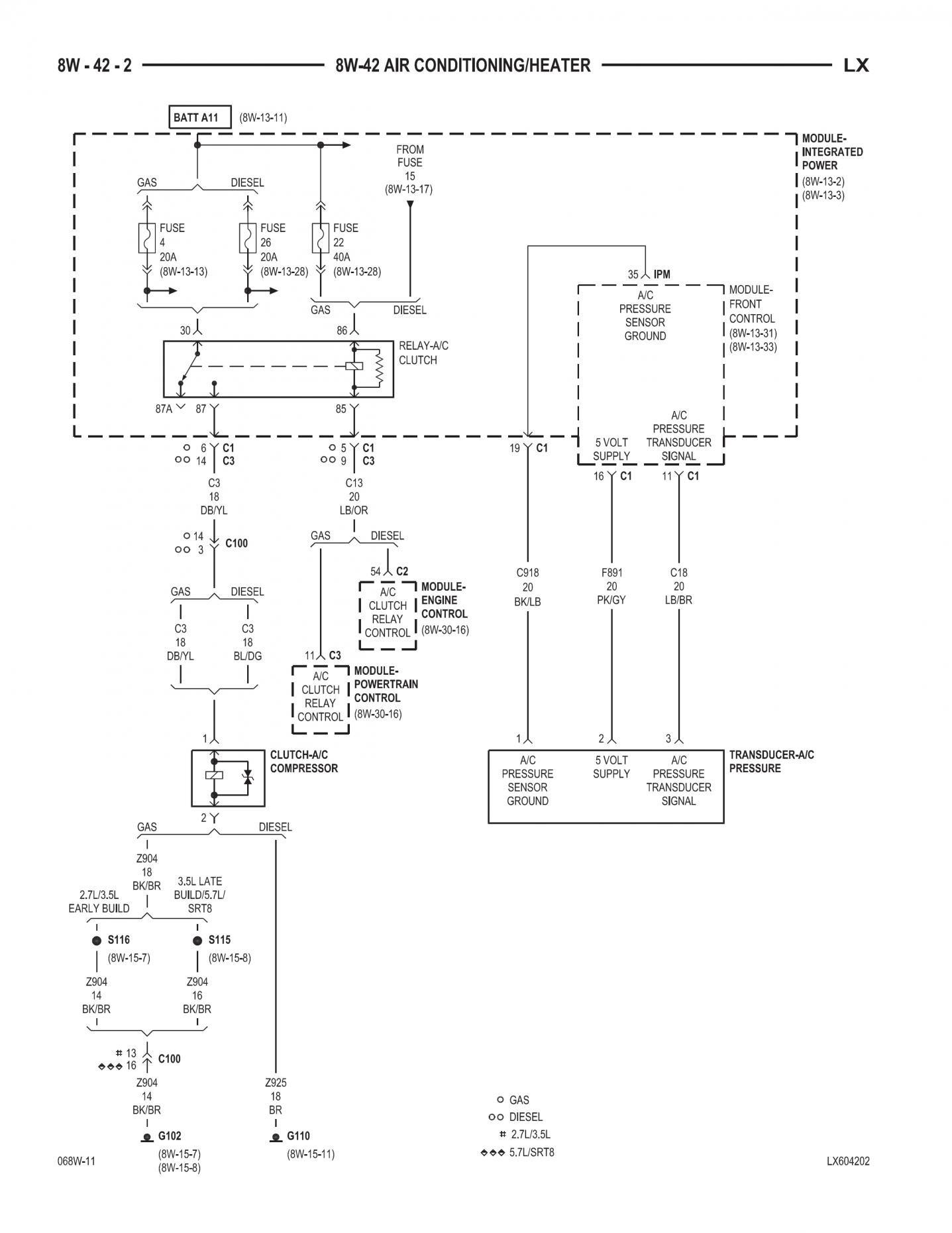 2006 Chrysler 300 Ac Wiring - Schematics Online on