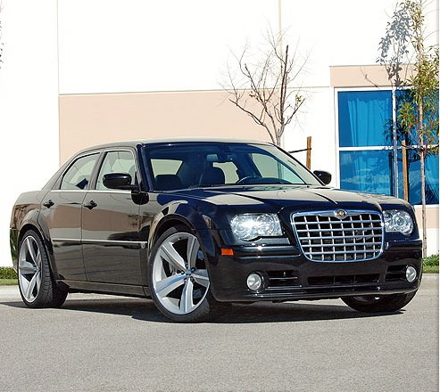 "22"" Challenger Srt8 Rims On My 300 - Chrysler 300C Forum: 300C & SRT8 Forums"