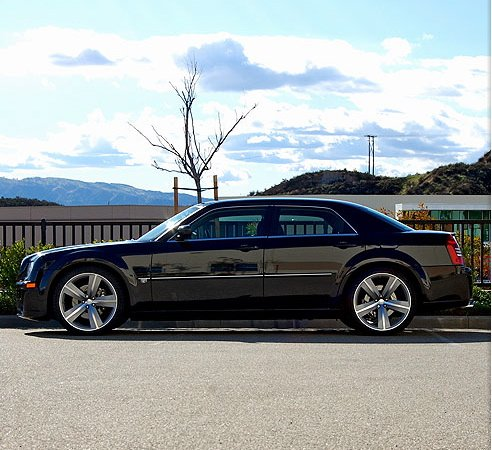Silver Steel 2006 Chrysler 300C SRT8 Every single option available