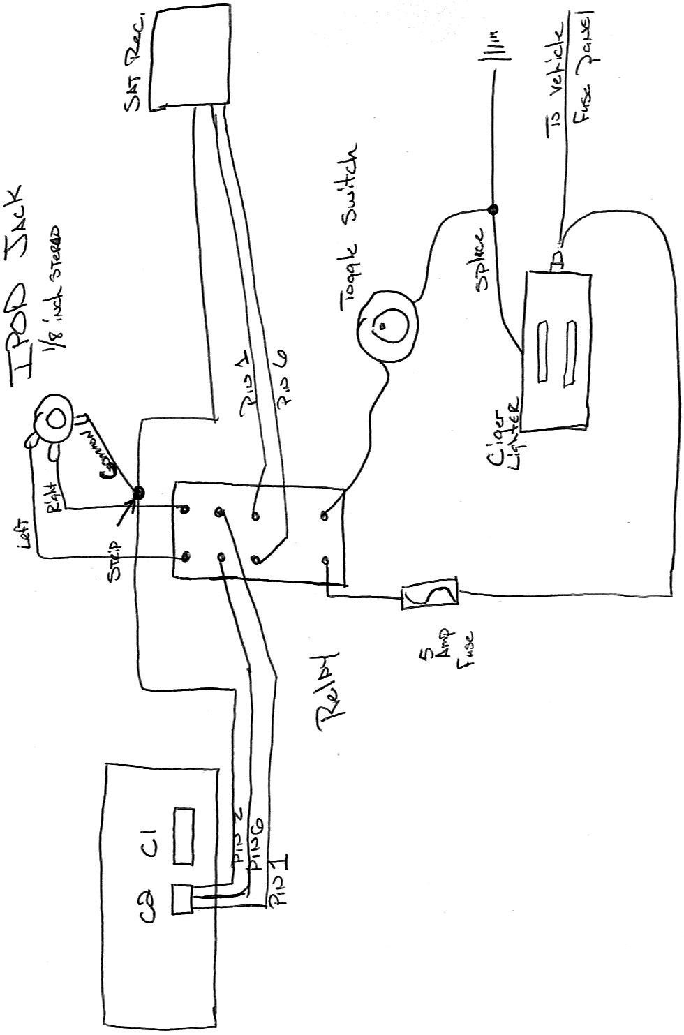 auxillery ipod wiring diagram ford