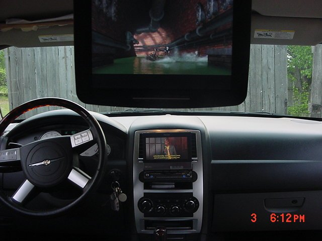 Get A Flipdown Car Dvd Player Installed At San Go Stereo