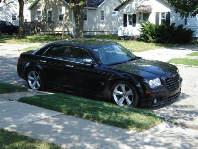 Chrysler 300c Black On Black