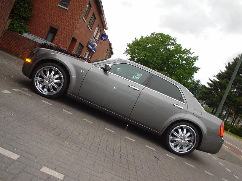 My Mineral Grey With Tis 10 In Belgium Chrysler 300c