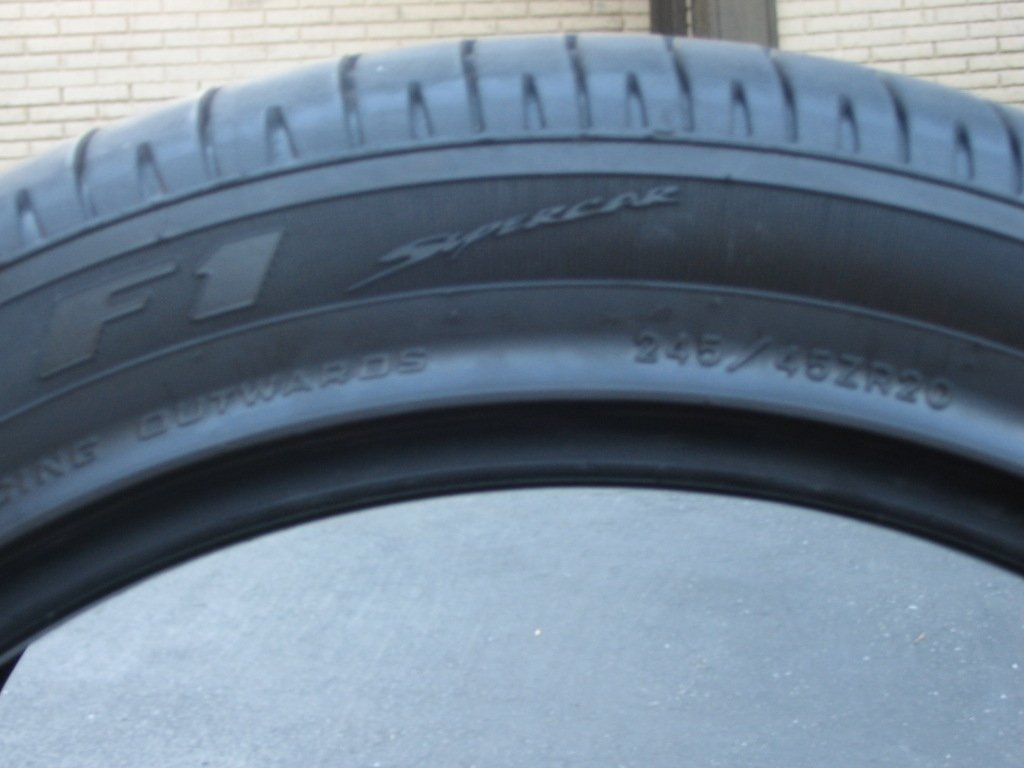expired goodyear 245 45 20 f1 front tires for sale 400 miles chrysler 300c forum 300c. Black Bedroom Furniture Sets. Home Design Ideas