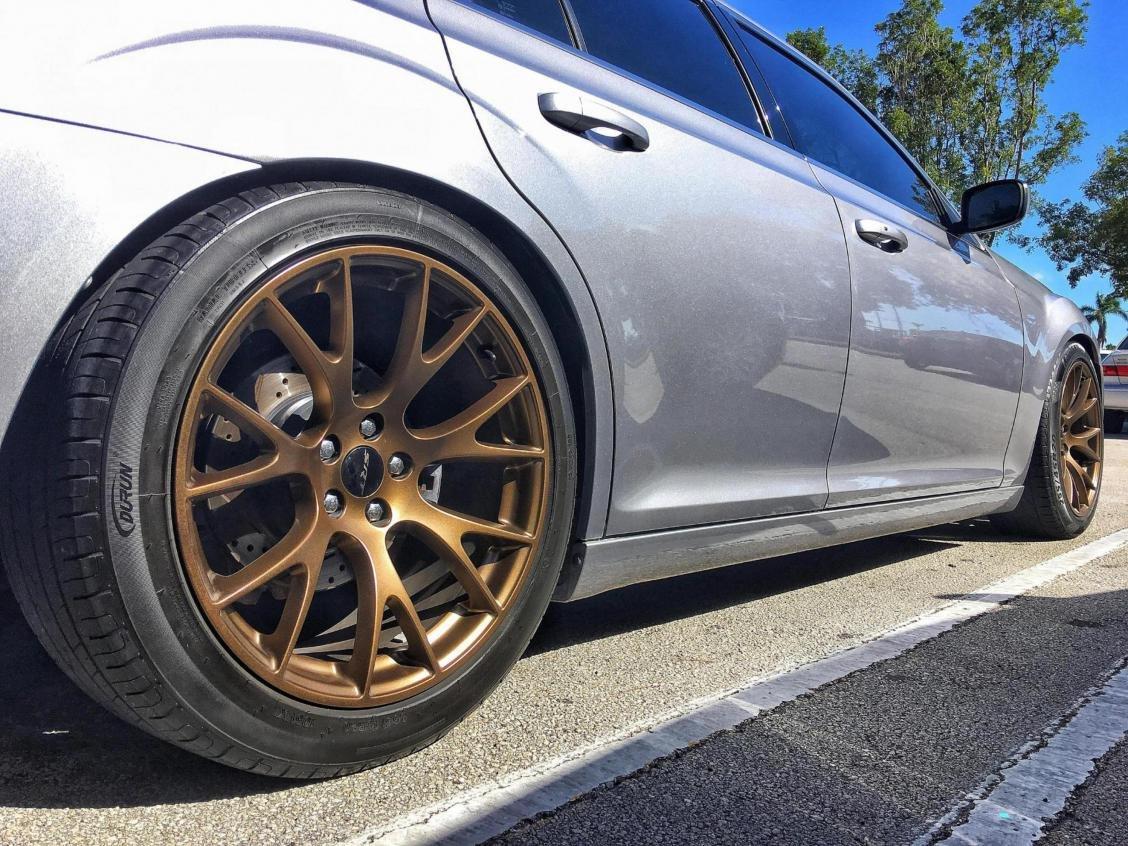 Hellcat wheels on 13 Chrysler 300S - Chrysler 300C Forum ...