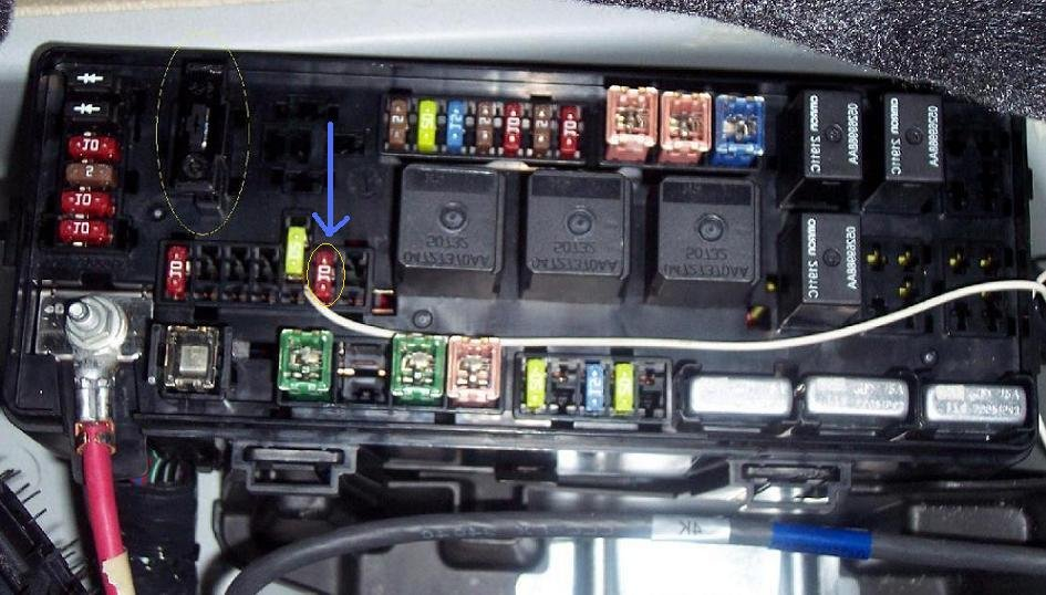 Fuse Box For Chrysler 300c - Wiring Diagram