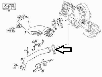 oil leaking from turbo into intercooler outlet pipe chrysler 300c Turbocharger Fan name genuine mercedes benz om642 engine green turbo