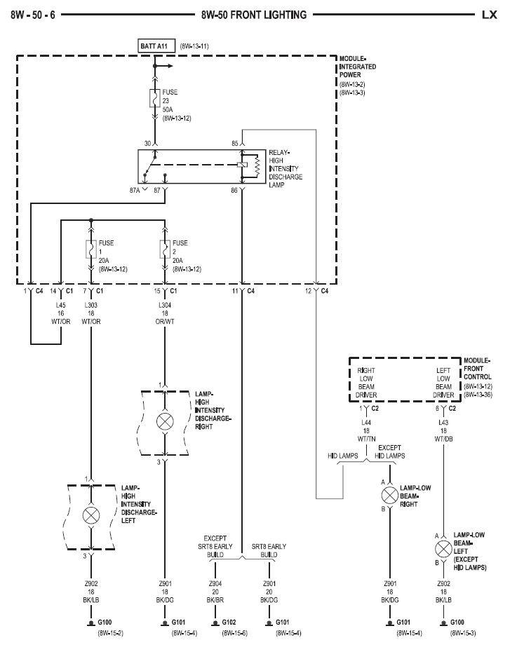53378d1369870226 headlamp module hid wiring headlamp module? page 5 chrysler 300c forum 300c & srt8 forums chrysler 300 2005 headlight wiring diagram at gsmx.co