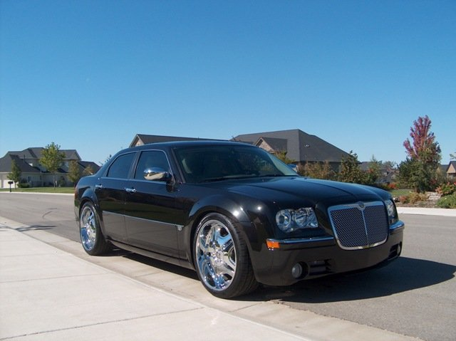 Chrysler 300 Black On Black. Pics: Black 300C, 22quot; TIS O3,