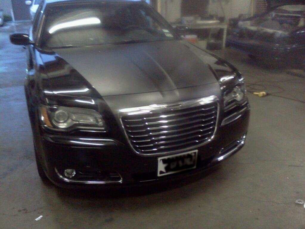 Matte Black On Gloss Chrysler 300c Forum 300c Amp Srt8 Forums