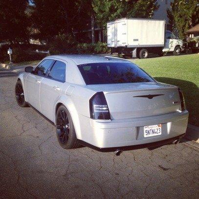 Lower window trim with plasti dip - Chrysler 300C Forum: 300C ...