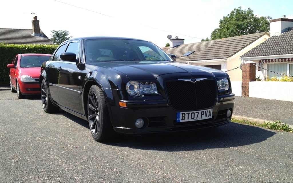 EXPIRED Black on black srt8 for sale  10000 ono  Chrysler