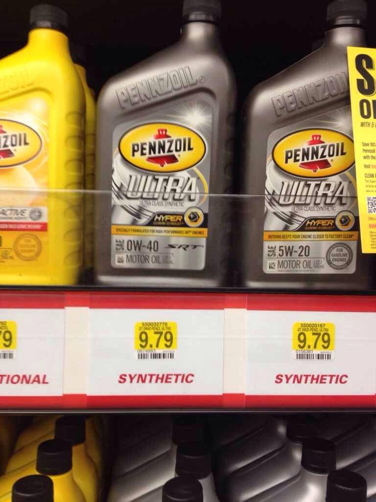Castrol vs mobil 1 vs pennzoil vs valvoline autos post for Autozone synthetic motor oil