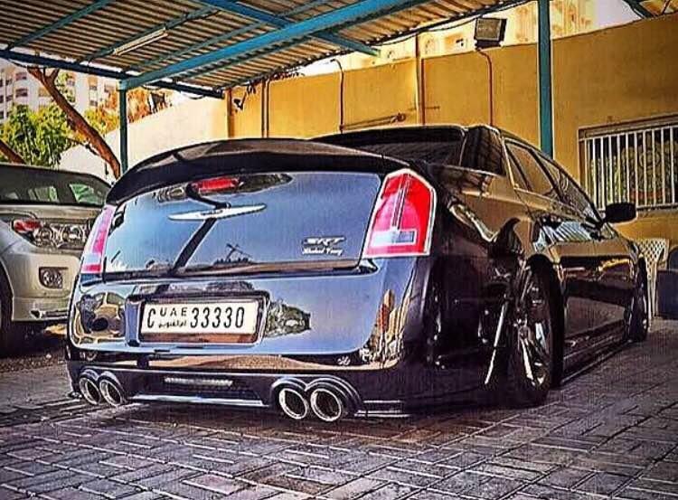 Chrysler 300srt >> Quad Exhaust Rear Diffuser - Chrysler 300C Forum: 300C & SRT8 Forums
