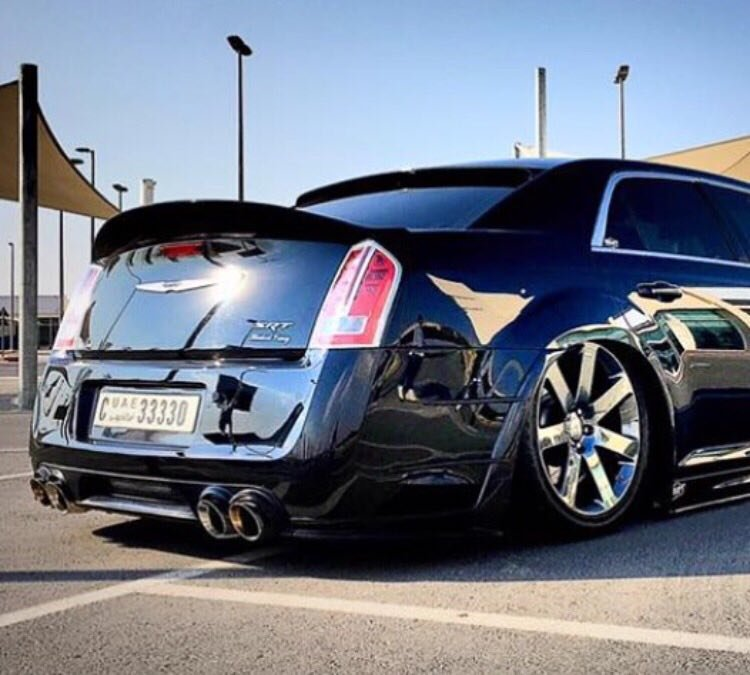 Chrysler 300c Forum 300c: Quad Exhaust Rear Diffuser
