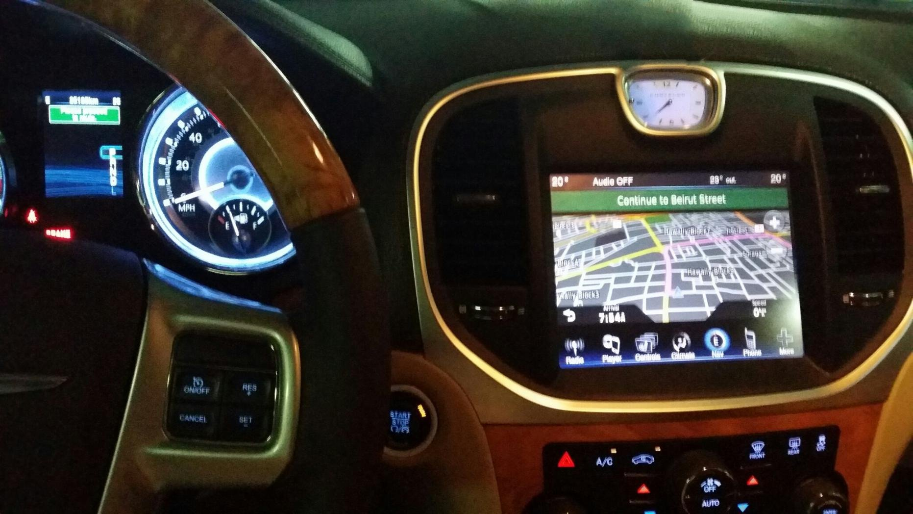 how to update gps US to MIDDLE EAST Chrysler 300C Forum 300C