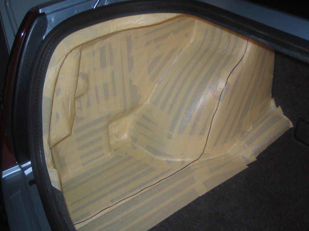 Fiberglass enclosure subwoofer