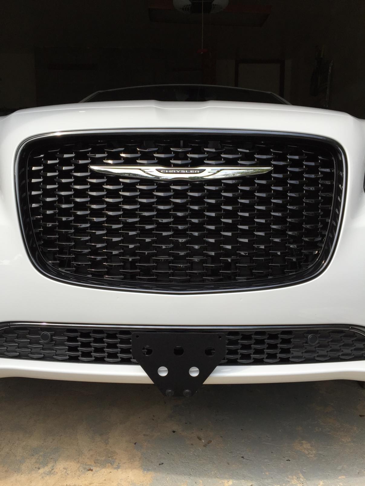 Front License Plate Bracket - Page 2 - Chrysler 300C Forum: 300C ...
