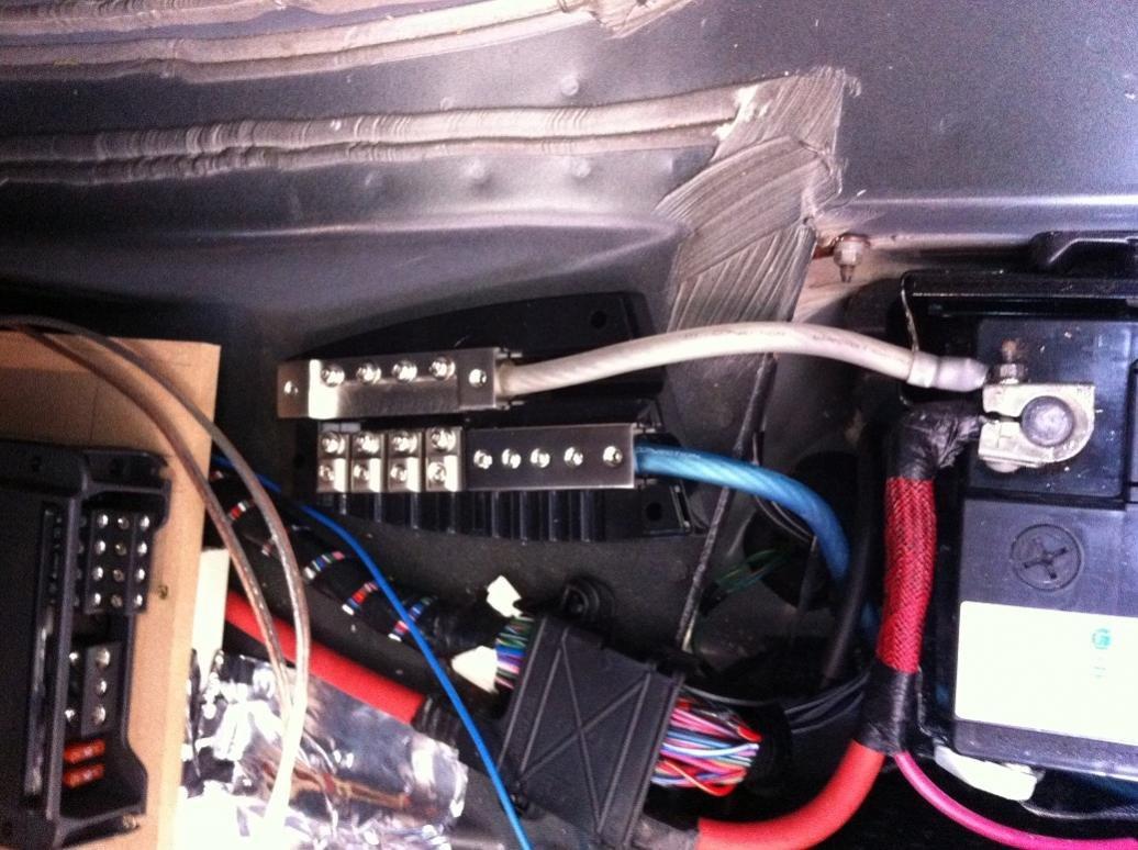 Audio System Upgrade Progress Chrysler 300c Forum Srt8 Car Wiring Management Img 1412