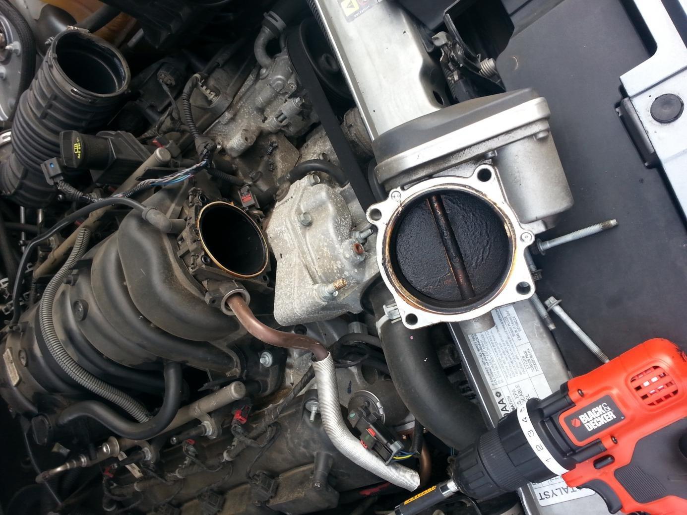 throttle body cleaning page 2 chrysler 300c forum 300c srt8 rh 300cforums com