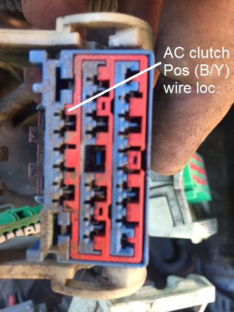 Ac Clutch Relay And Tipm In 2008 300c