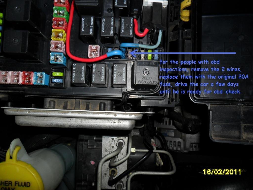 2006 Dodge Magnum Fuse 11 - Wiring Circuit • on