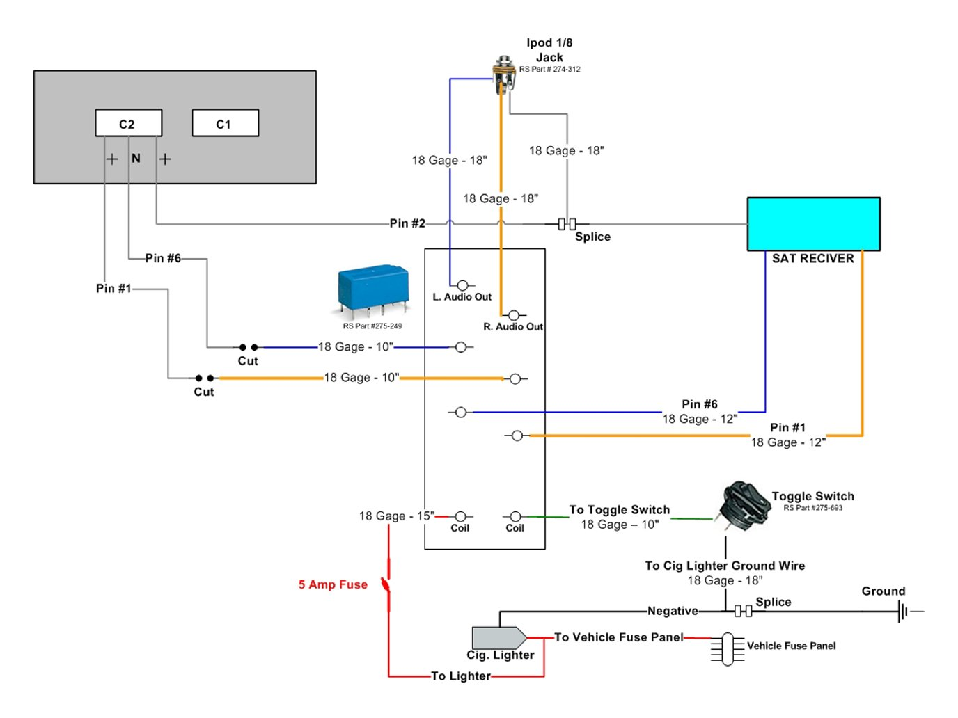 ford ipod auxiliary wiring diagram tech aux input ipod in factory radio chrysler 300c   srt8 forums  tech aux input ipod in factory radio