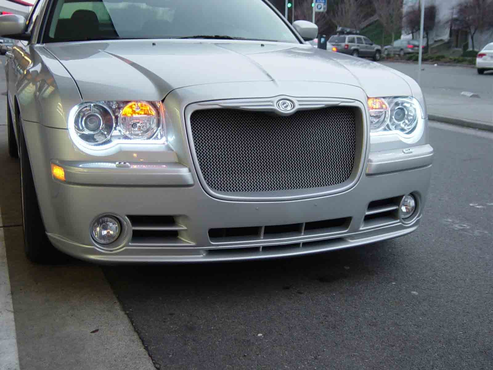 """LED """"Audi"""" style daytime running lights on a 300 ..."""