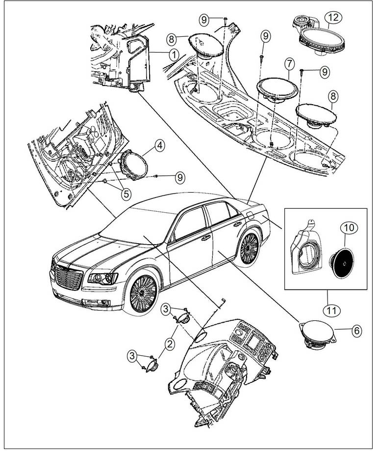 Chrysler 300c Parts Diagrams