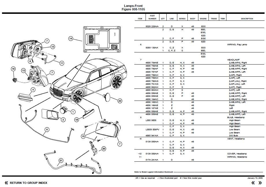 chrysler 300 limited awd wiring harness diagram