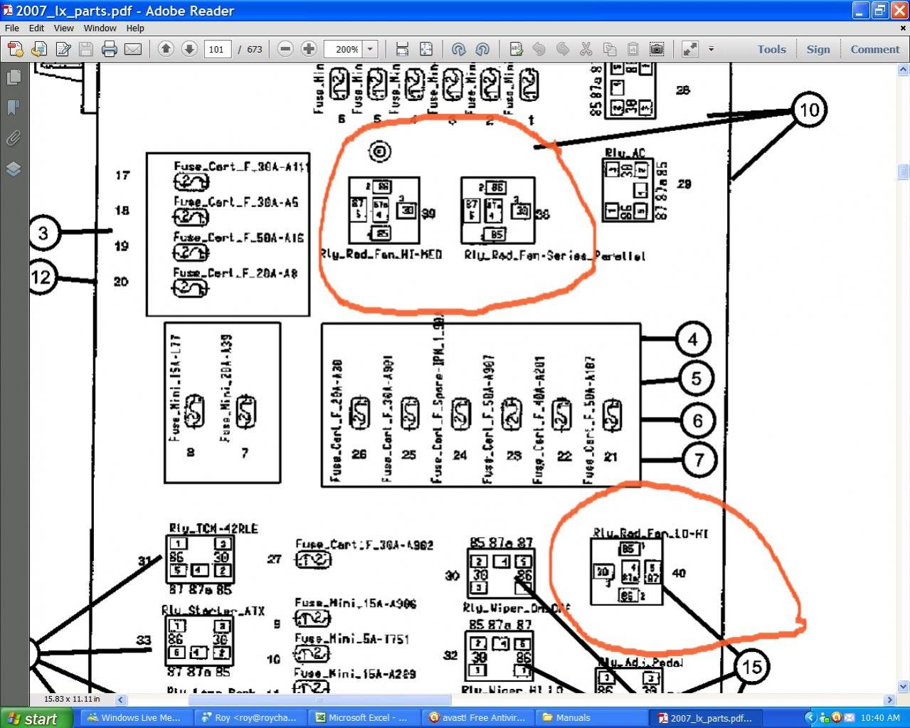 compressor cooling fan wiring diagram with relay 2007 chrysler 300 cooling fan relay  chrysler 300c   srt8 forums  2007 chrysler 300 cooling fan relay