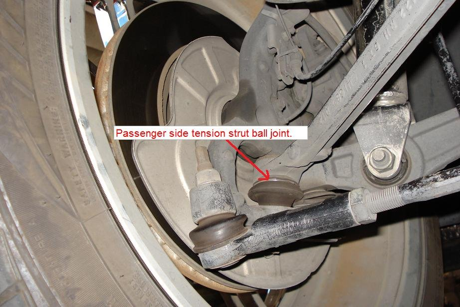 D Weird Loose Rattle Sound Over Bumps Front End Moved Tension Strut Ball Joint on 06 Dodge Dakota Specs