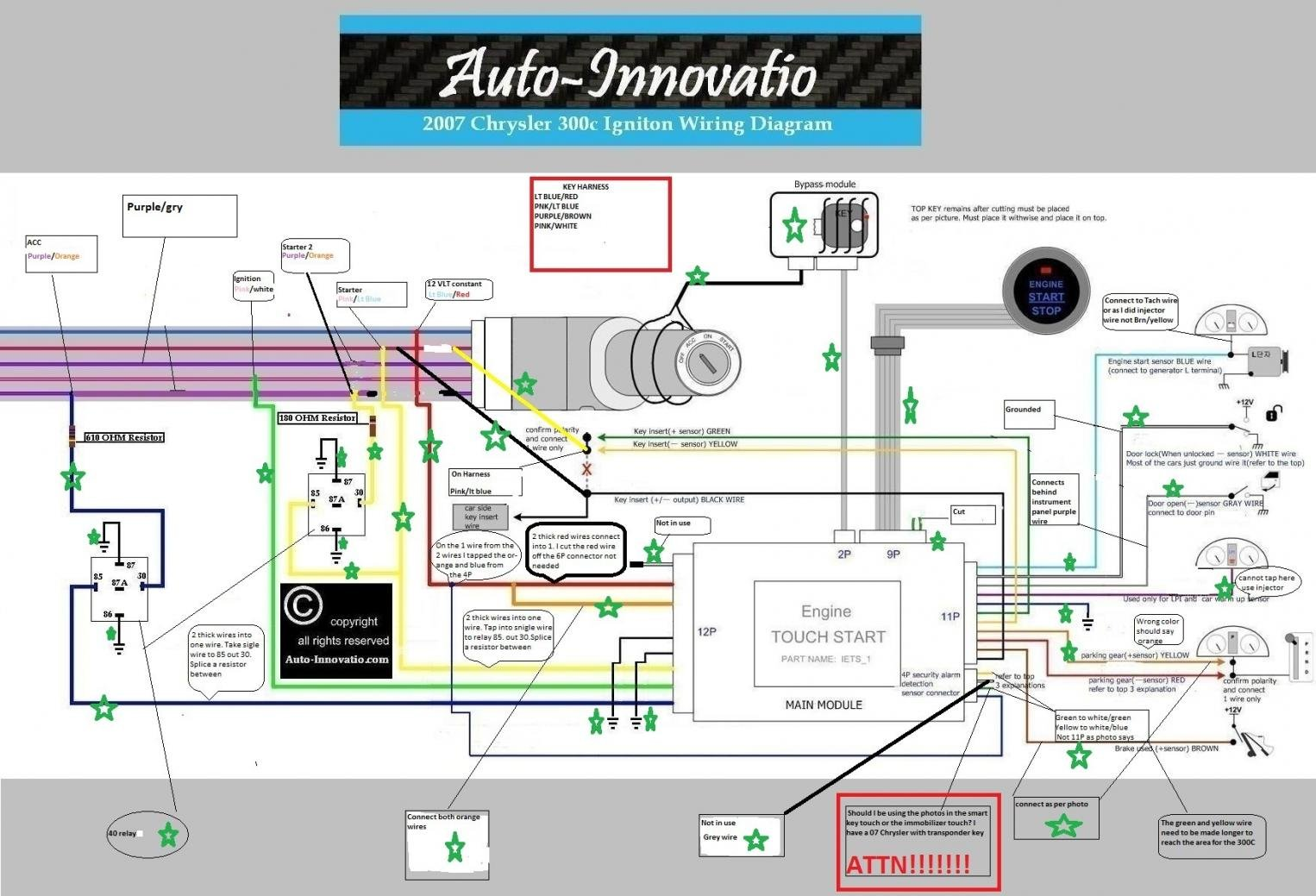 38607d1317073730 keyless push button start touch button 2007 chrysler 300c vehicle igniton wiring diagram 2 chrysler 300m stereo wire diagram roslonek net,Wiring Harness Diagram For A 2001 Chrysler 300m